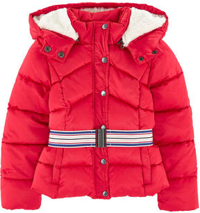 Jean Bourget Padded coat with a removable hood