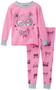 Petit Lem Super Me! Pajama Set (Baby Girls)