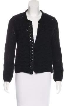 Pinko Long Sleeve Embellished Sweater
