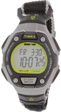 Timex Women's Ironman TW5K89800 Black Cloth Quartz Sport Watch