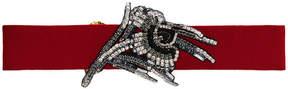 No.21 embellished buckle belt