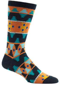 Ozone Men's Moroccan Waves Crew Socks (2 Pairs)