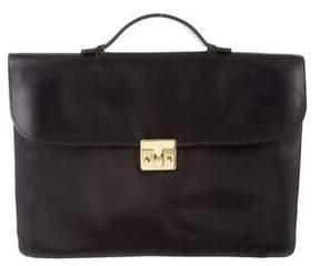 Bottega Veneta Vintage Leather Briefcase
