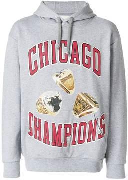 Ih Nom Uh Nit Chicago rings longsleeved hoodie