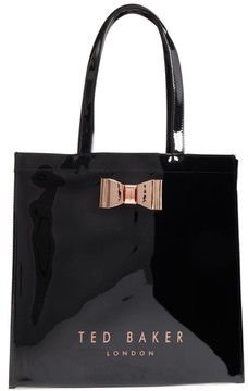 Ted Baker Mandcon - Large Icon Pvc Tote - Black