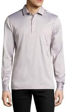 La Perla Men's Long Sleeve Cotton Shirt