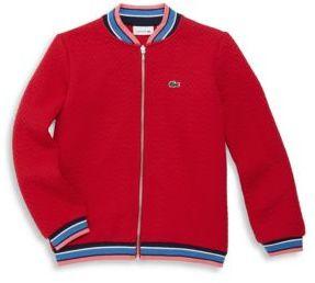 Lacoste Toddler's, Little Girl's & Girl's Cotton-Blend Jacket