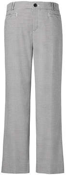 Banana Republic Logan Trouser-Fit Cropped Houndstooth Pant