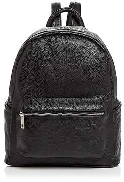 AQUA Leather Backpack - 100% Exclusive