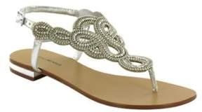 Menbur Gazania Ornamented Thong Sandals
