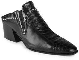 Acne Studios Karmir Leather Studded Mules