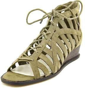 BCBGeneration Madeya Women US 8 Green Wedge Sandal