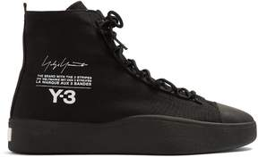 Y-3 Bashyo high-top canvas trainers