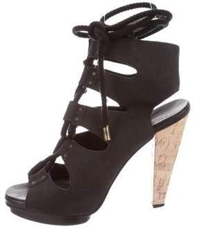 Derek Lam Lace-Up Platform Sandals