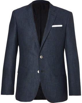 HUGO BOSS Blue Hutsons Slim-Fit Woven Blazer