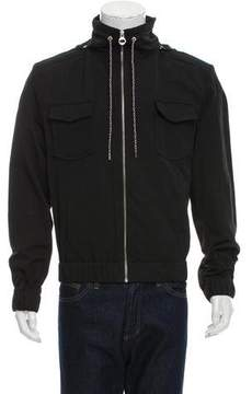 Carven Hooded Lightweight Jacket