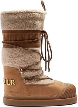 Moncler X Moon Boot® Venus shearling aprés-ski boots