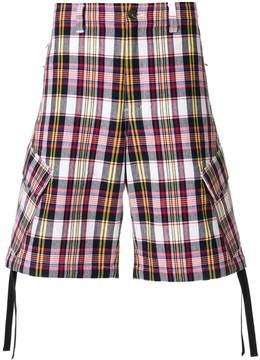MSGM check shorts