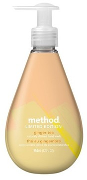 Method Products Limited Edition Gel Hand Soap Ginger Tea - 12oz
