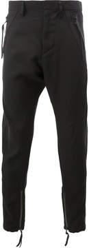 Julius zip cuff tailored trousers