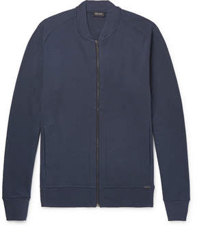 Hanro Cotton-Jersey Bomber Jacket