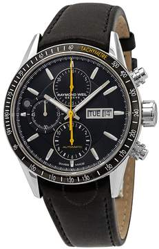 Raymond Weil Freelancer Chronograph Automatic Black Dial Men's Watch