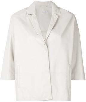 P.A.R.O.S.H. short-sleeve fitted blazer