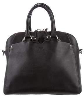 Ghurka Leather Goa Satchel