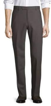 Saks Fifth Avenue Nano Flex Twill Wool Pants