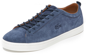 Lacoste Straightset Suede Sneakers