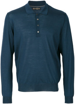 Corneliani longsleeved polo shirt