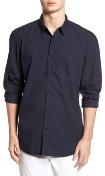 French Connection Regular Fit Poplin Sport Shirt
