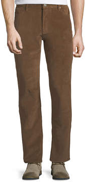 Jachs Ny Bowie Straight-Leg Corduroy Pants, Brown