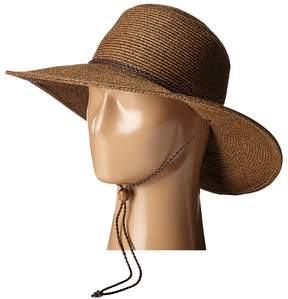 San Diego Hat Company UBM4453 4 Inch Brim Sun Hat with Twisted Adjustable Chin Cord Caps