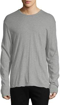 James Perse Yosemite by Men's Long-Sleeve Cotton Tee