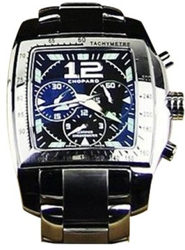 Chopard Stainless Steel Two O Ten Chronograph Mens Watch