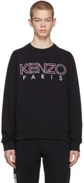 Kenzo Black Paris Logo Sweatshirt