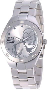 Marvel Fortaleza Iron Man Mens Silver-Tone Watch