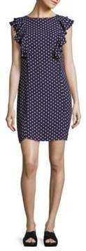 Donna Morgan Double Ruffle Mini Dress