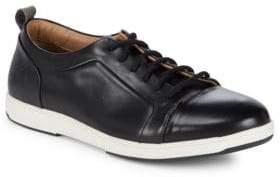 Tommy Bahama Leather Round Toe Sneakers
