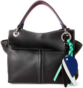Proenza Schouler Black Curl Leather Shoulder Bag