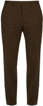 Lanvin Straight-leg cotton chino trousers