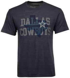 Authentic Nfl Apparel Men's Dallas Cowboys Lone Coach Triblend T-Shirt