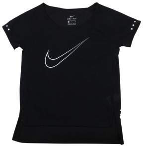 Nike Big Girls' (7-16) Dr-Fit Breathe Running Top-Black-XSmall