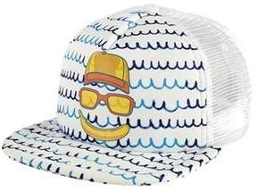 San Diego Hat Company Unisex Children's Banana Face Trucker Hat Ctk4189.