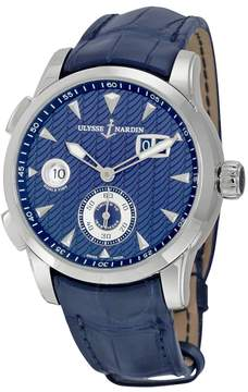 Ulysse Nardin Dual Time Blue Dial Automatic Men's Watch 3343-126LE-93
