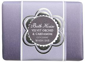 Bath House Velvet Orchid and Cardamom Wash Bar by 100g Bar)