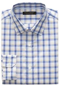Banana Republic Grant Slim-Fit SUPIMA® Cotton Check Shirt