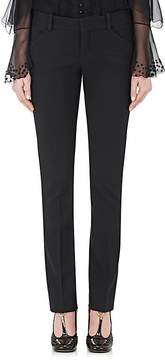 Chloé Women's Stretch-Virgin Wool Slim Ankle-Length Pants