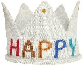 Oeuf Happy Birthday Baby Alpaca Tricot Crown